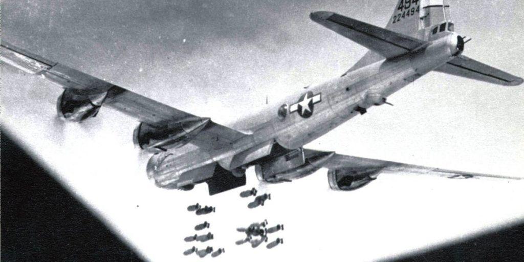 Бомбардировка с B-29