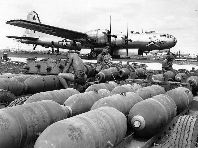 Бомбы для B-29