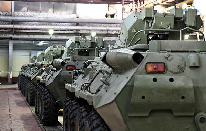 БТР-82А на заводе