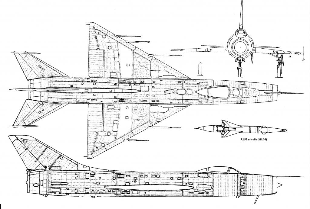 Чертеж Су-9