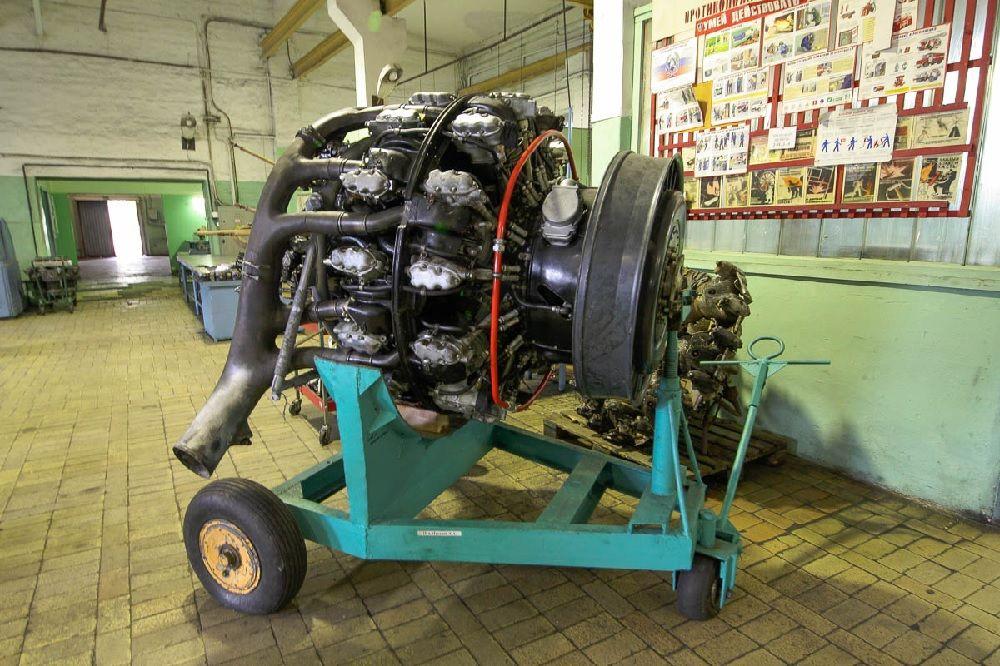Двигатель Ми-4