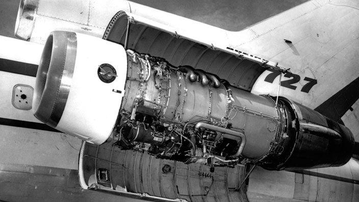 Двигатели JT8D-1