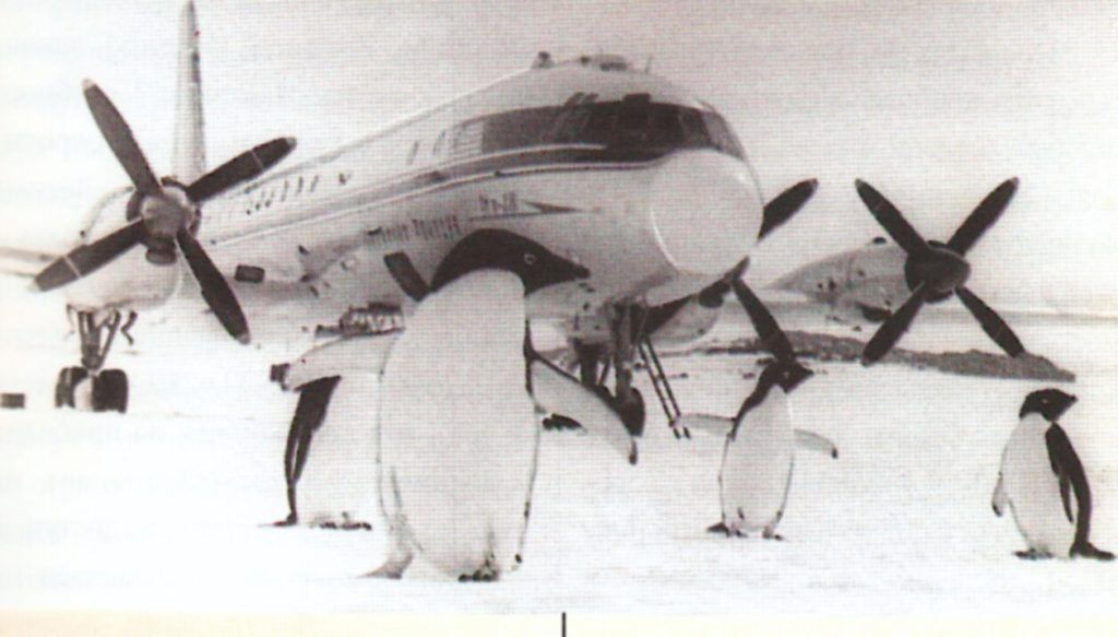 Ил-18 в Антарктиде