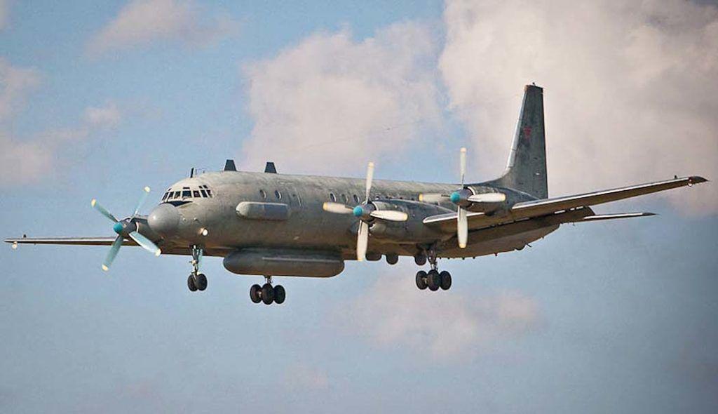 Ил-20 в воздухе
