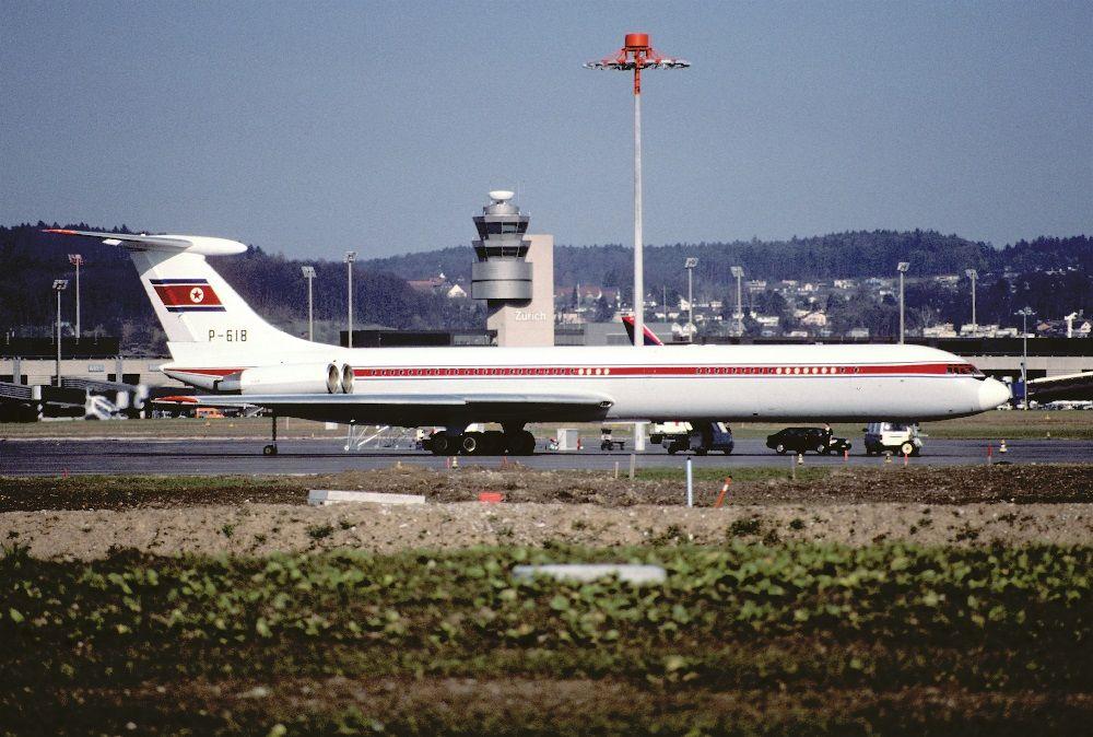 Ил-62 корейской авиакомпании