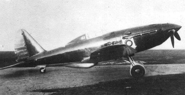 Истребитель Су-3