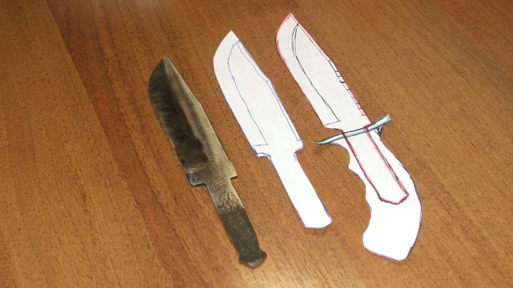 Изготовление охотничьего ножа