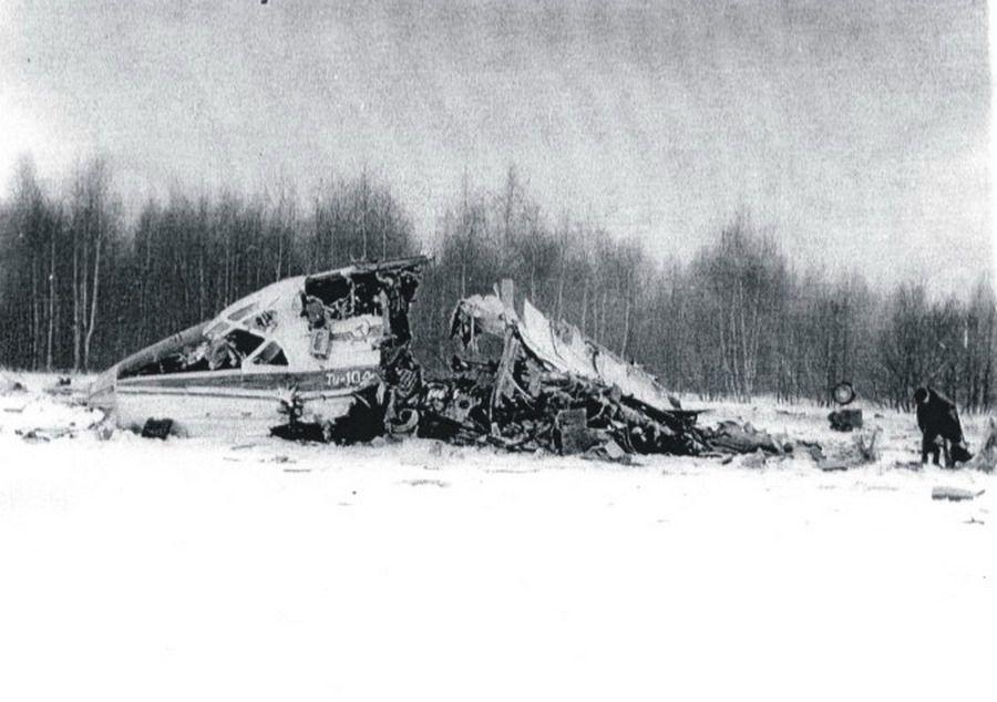 Катастрофа Ту-104 под Москвой