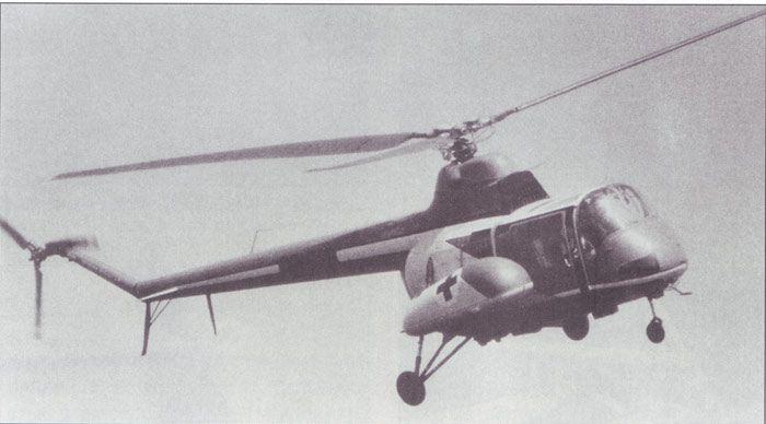 Ми-1 в полете