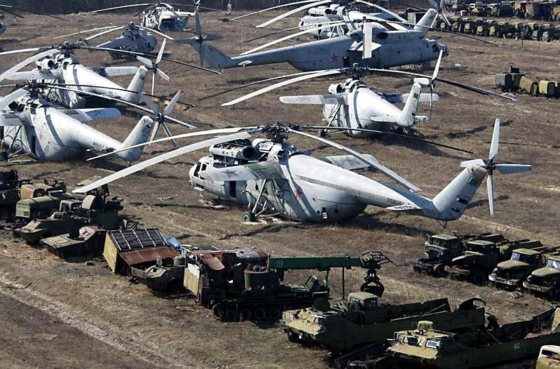 Ми-6 в Чернобыле
