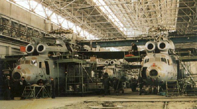 Ми-6 в Ростове на заводе