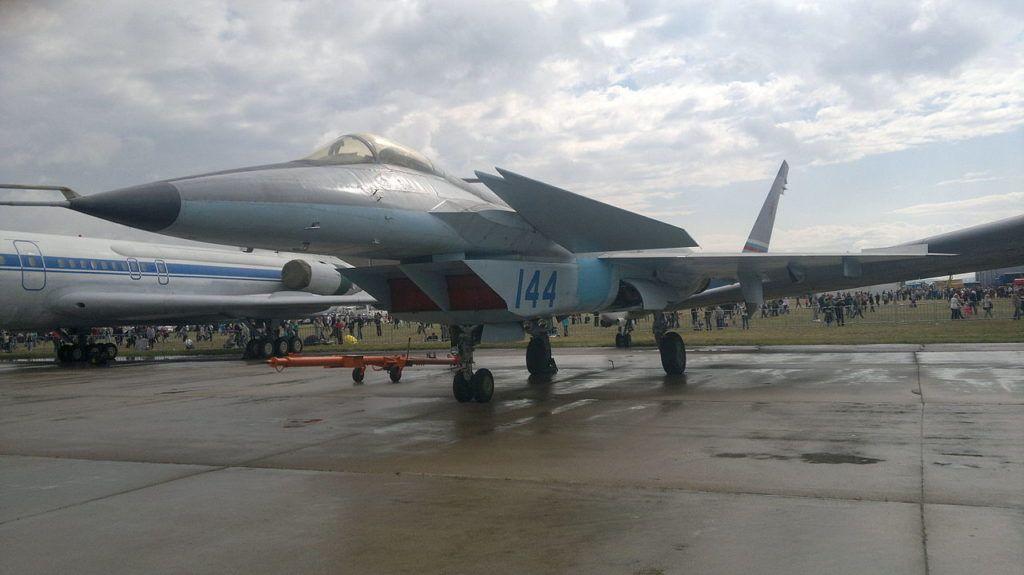 МиГ 1.44 на МАКС-2015