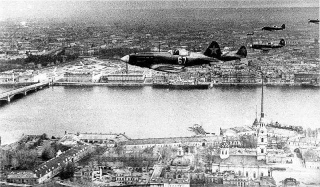 Миг-3 на защите Ленинграда