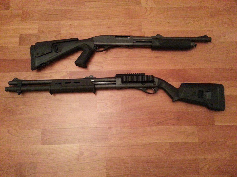 Модификации Remington-870