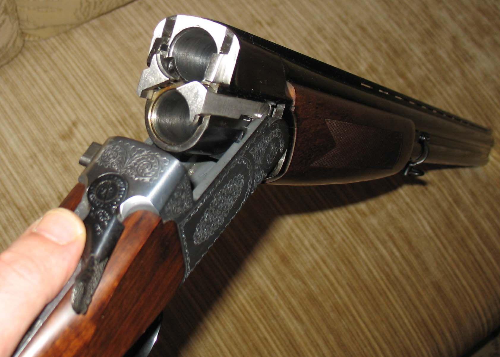 МР-233 с открытыми стволами