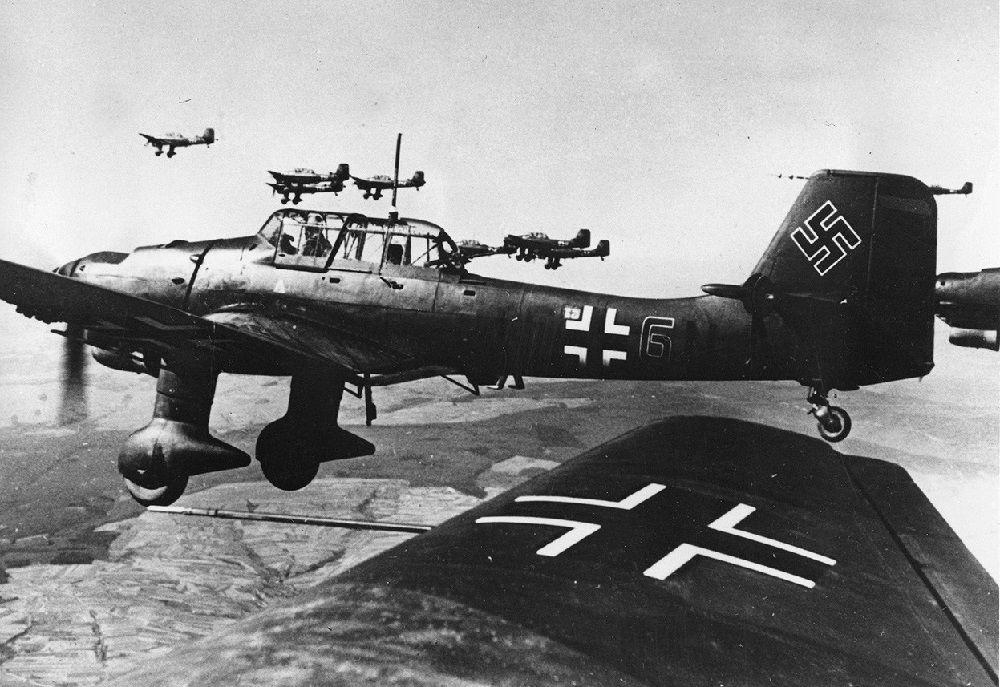 Немецкие Юнкерсы-87