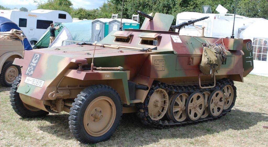 Отреставрированный SdKfz 250