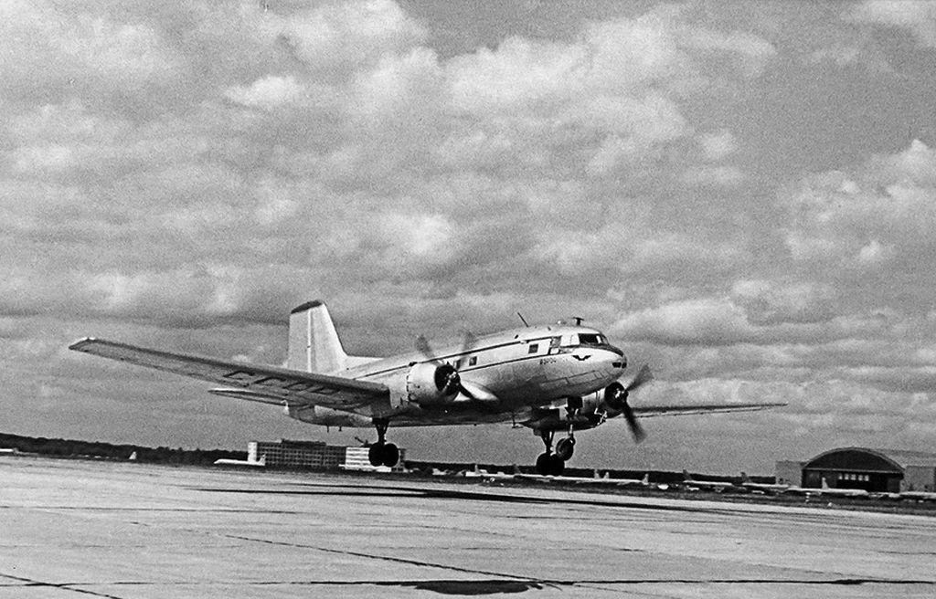Первый полет Ил-14