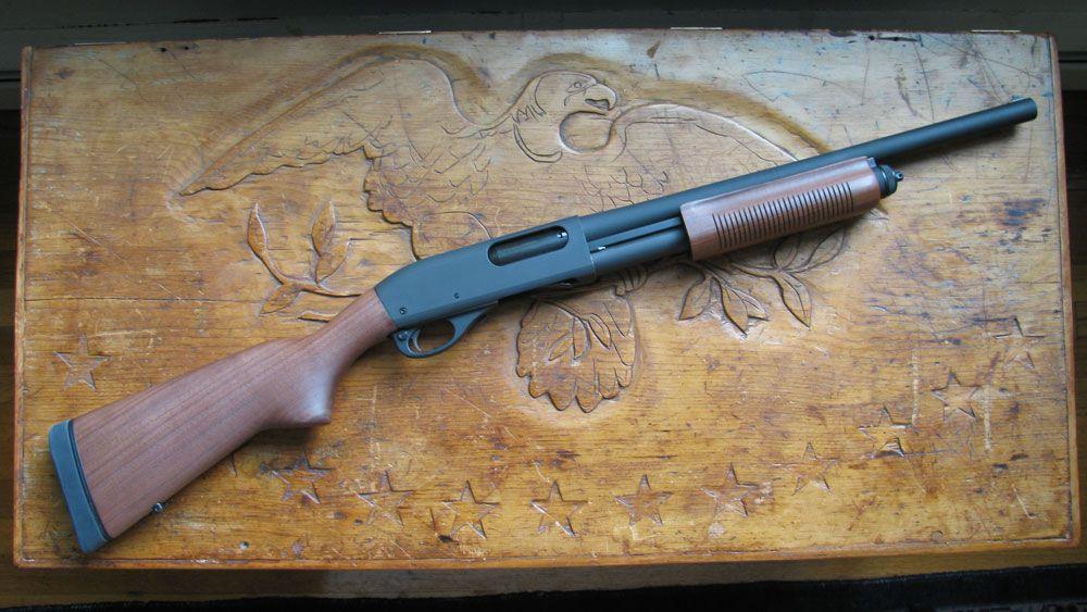 Помповый дробовик Remington-870