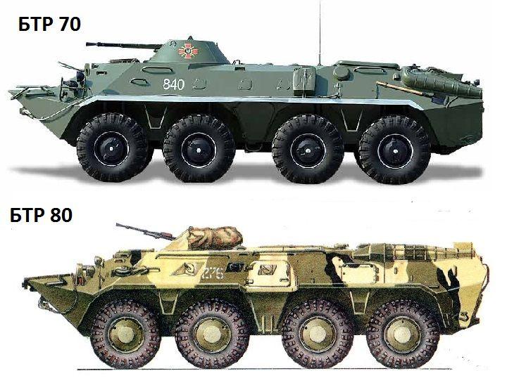 Предшественники БТР-82А