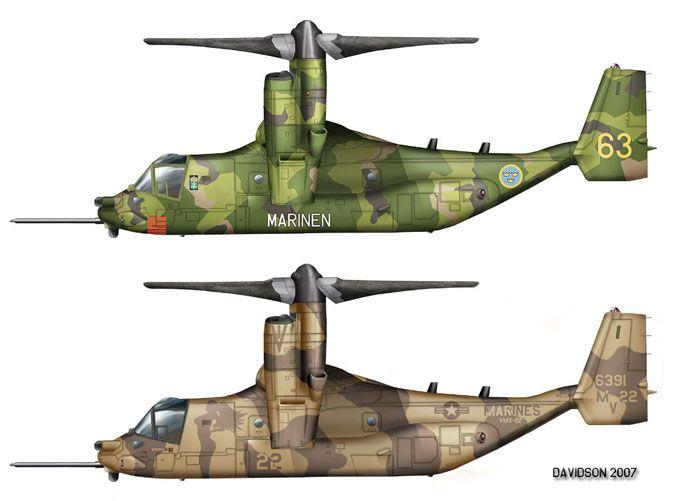 Расцветка V-22 Osprey