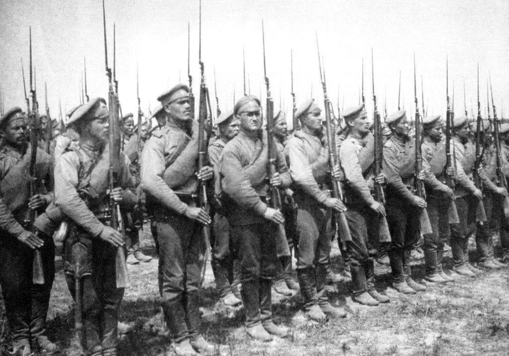 Российская военная форма в начале XX века