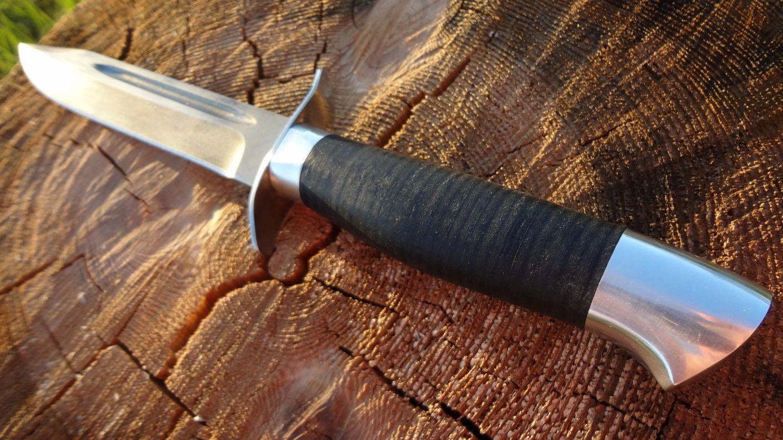 Рукоять ножа разведчика