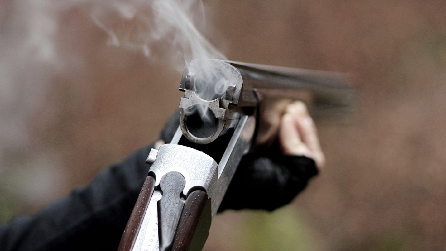 Ружье после выстрела