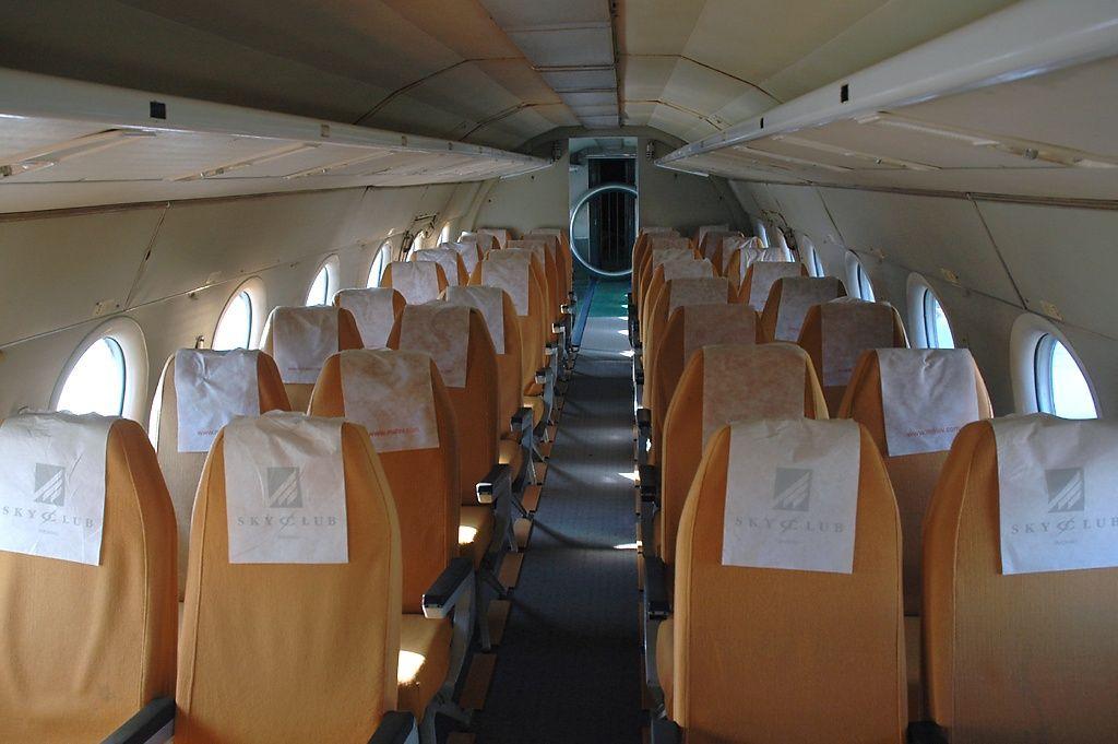 Салон Ту-134