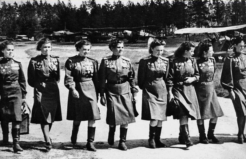 Советская женская форма во Вторую мировую войну