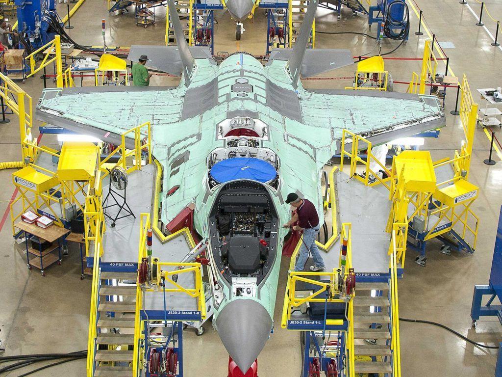 Создание F-35