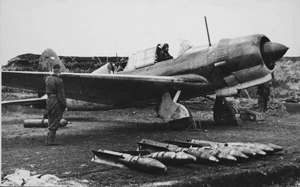 Су-2 в бомбардировочном варианте