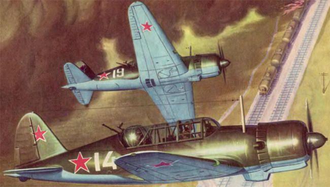 Су-2 в бою
