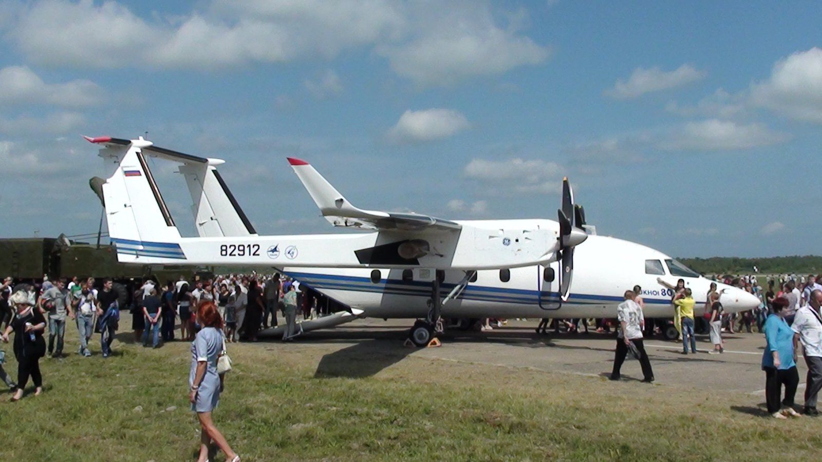 Су-80 с открытой рампой