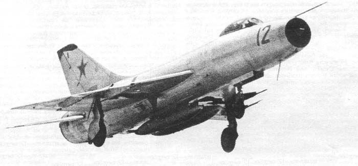 Су-9 в воздухе