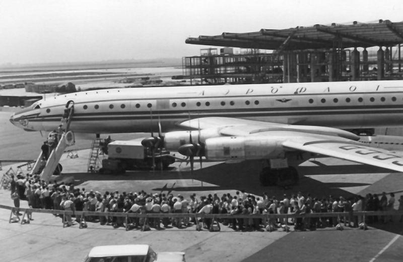 Ту-104 в Нью-Йорке