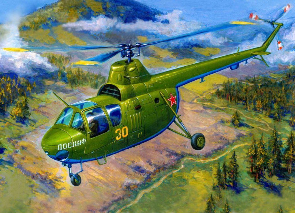 Вертолет Ми-1