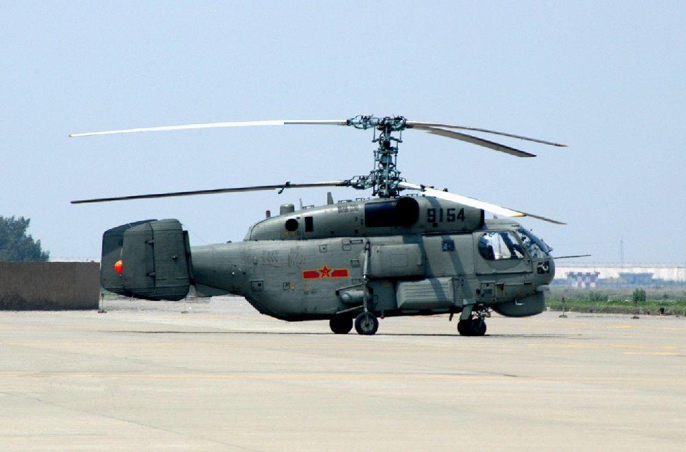 Вертолет в Китае