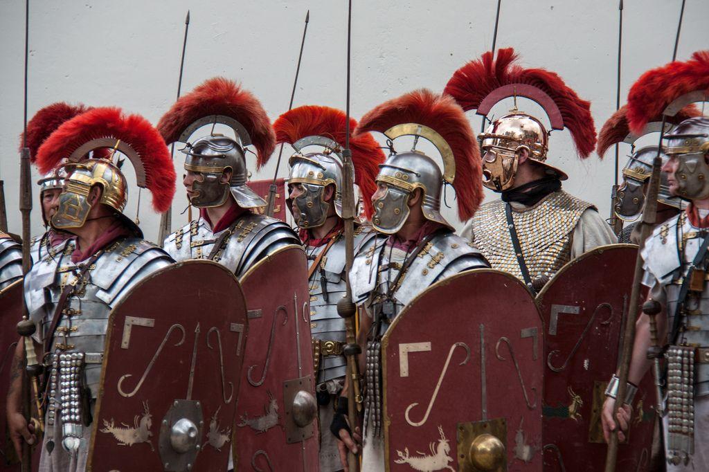 Военная форма Римской империи
