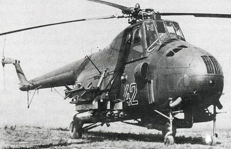 Вооружение Ми-4