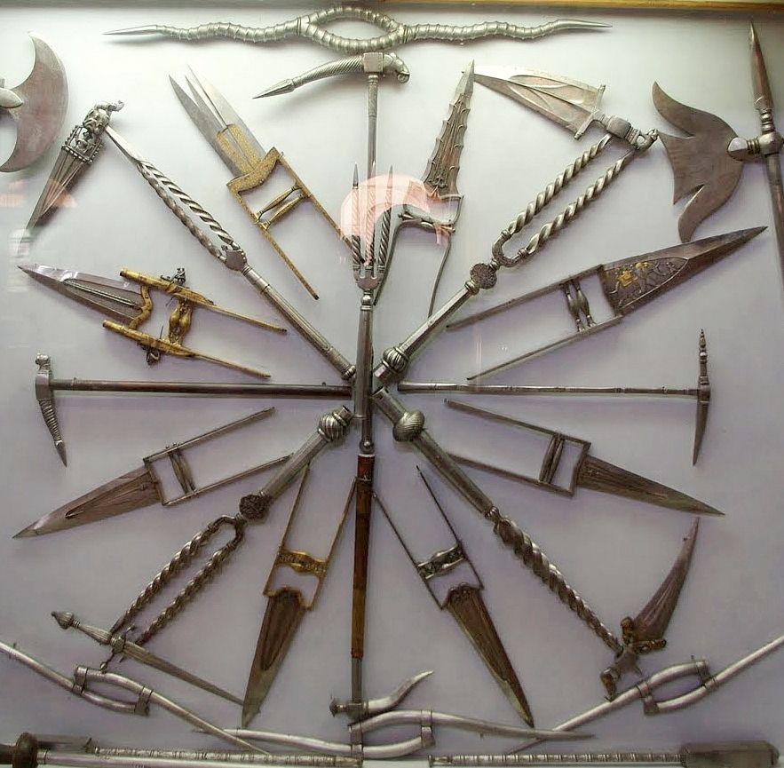 Выставка индийского оружия