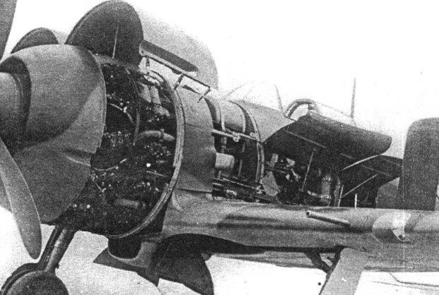 ЯК-7 на ремонте