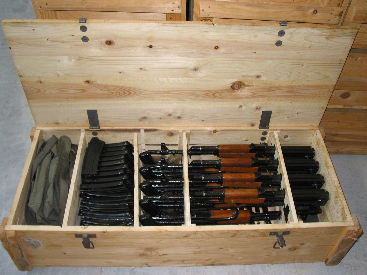 Ящики АК-47