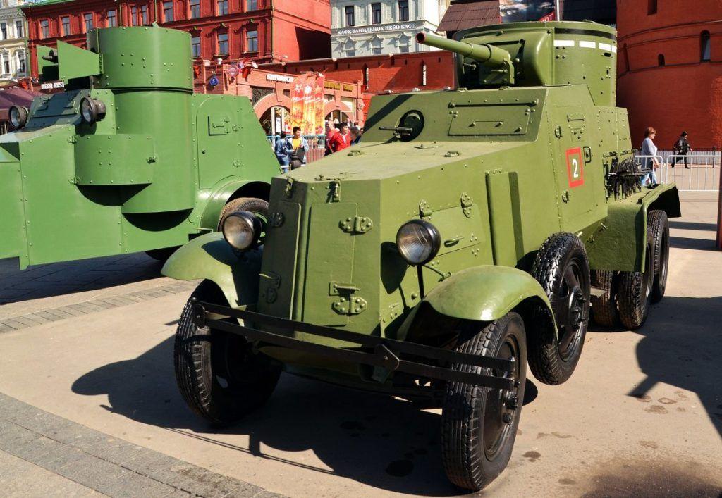 БА-3 на выставке