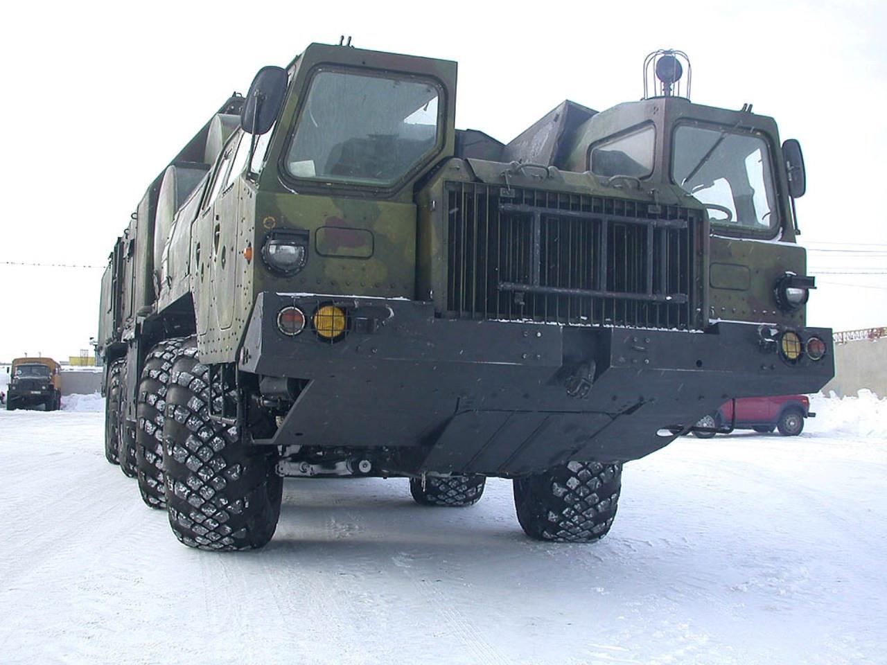 Базовая модель МАЗ-543
