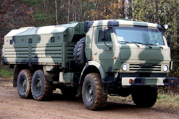 Бронированный КамАЗ-53501