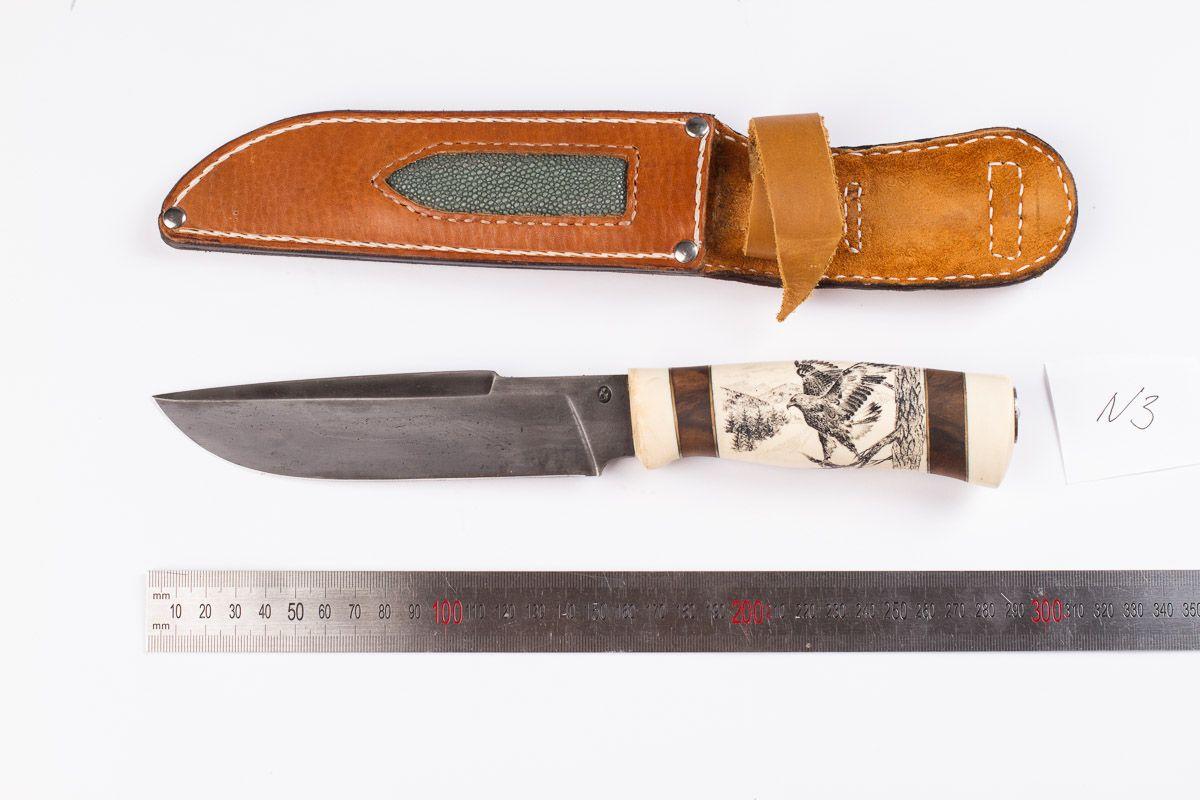 Длина булатного ножа