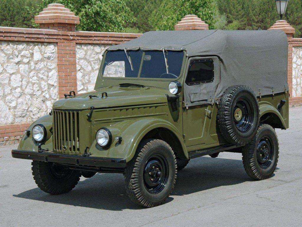 Джип ГАЗ-69
