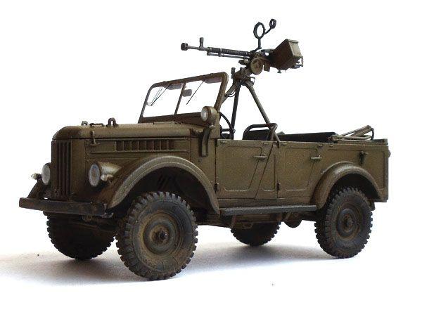 ГАЗ-69А с пулеметом