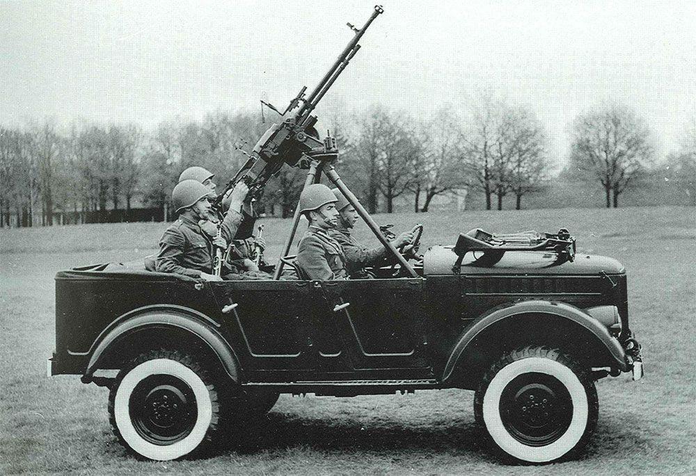 ГАЗ-69А с солдатами